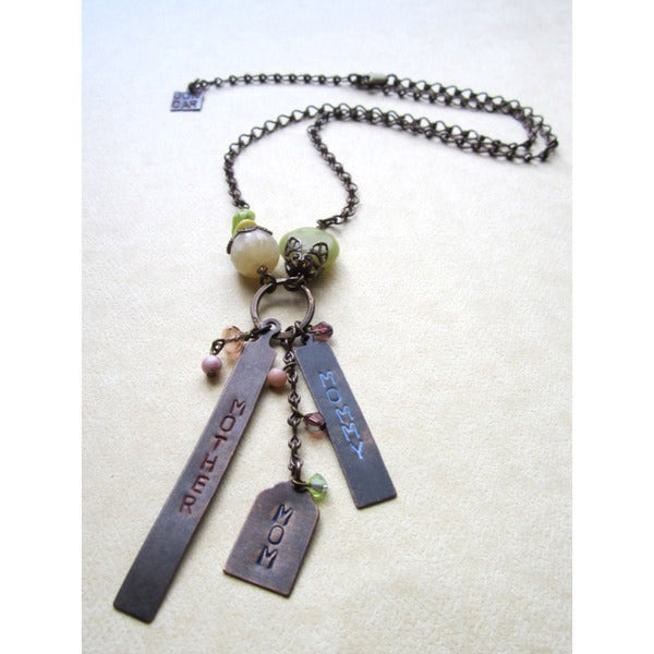 Mom, Mother, Mommy Vintage Necklace