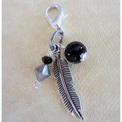 Fashion Forward Feather Charm