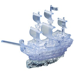 Bepuzzled 3D 'Pirate Ship' 98-piece Crystal Puzzle