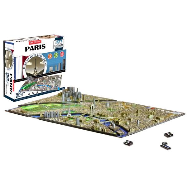 4D Cityscape Puzzle - Paris