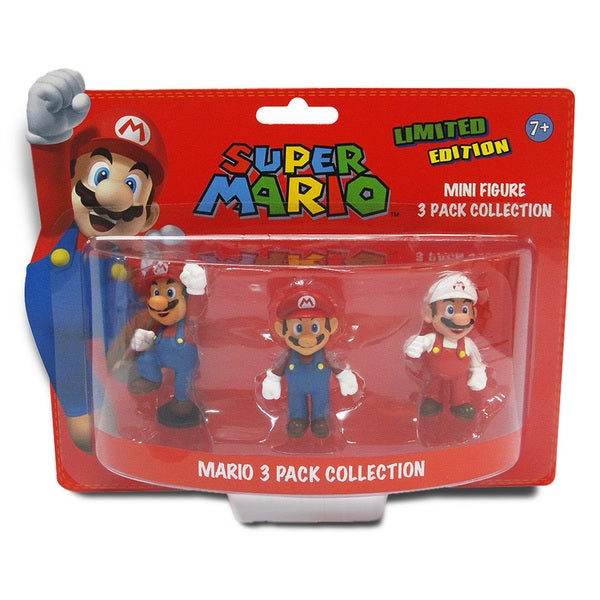 Super Mario Brothers 2-inch Mario Mini-figure Set