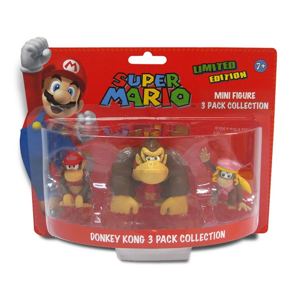 Super Mario Brothers 2-inch Donkey Kong Mini-figure Set 9816108
