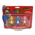 Super Mario Brothers 2-inch Yoshi Mini-figure Set