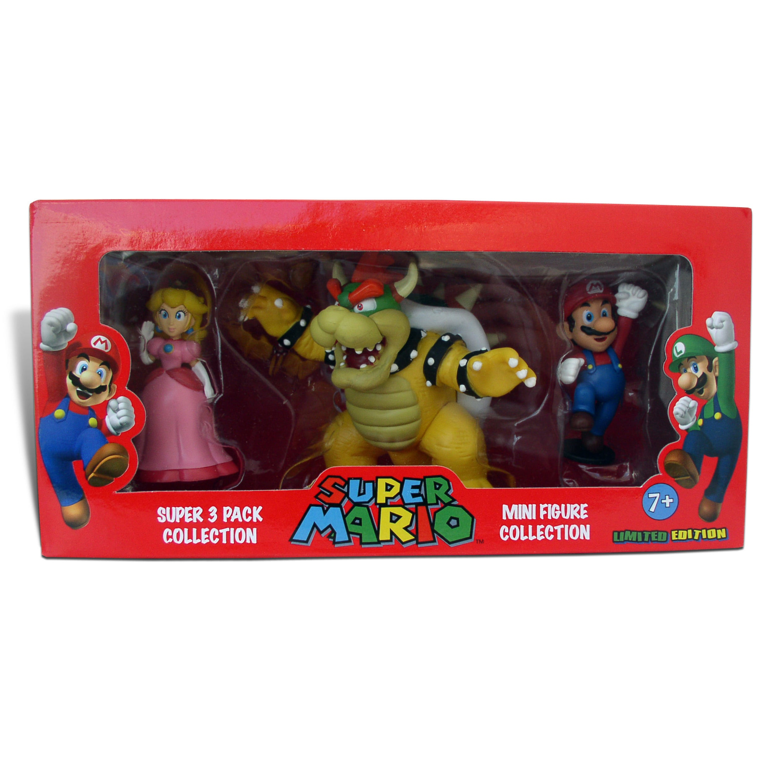 Super Mario Brothers 2-inch Super Mini-figure Set