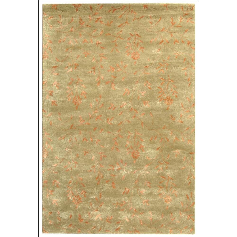 Safavieh Handmade Tranquility Sage New Zealand Wool Rug (8'3 x 11')