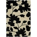 Handmade Shadows Beige New Zealand Wool Rug (2' x 3')