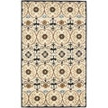 Handmade Gramercy Ivory New Zealand Wool Rug (8'3 x 11')