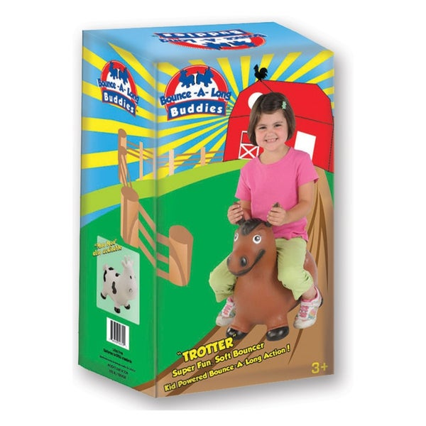 Bounce Along Buddy Trotter Horse Bouncing Toy