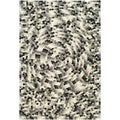 Handmade Soho Mosaic Black New Zealand Wool Rug (8&#39;3 x 11&#39;)