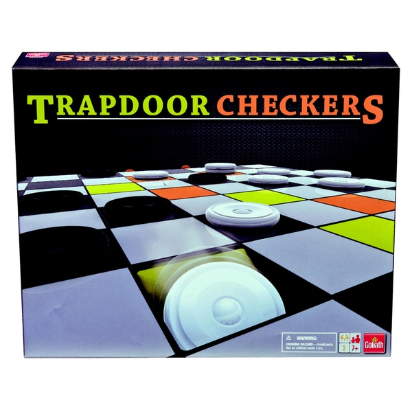 Trapdoor Checkers Game