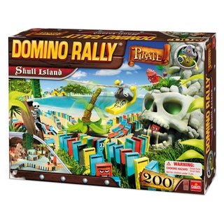 Goliath Domino Rally Pirate Skull Island