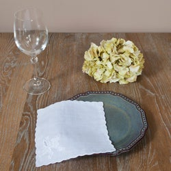 Embroidered Cocktail Napkins (Set of 12)