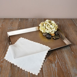Crochet Lace Napkins (Set of 12)