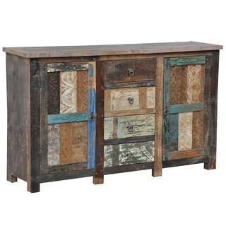Bono Carved 2 Door/ 4 drawer Buffet