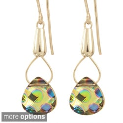 Sterling Silver Crystal Theia Earrings