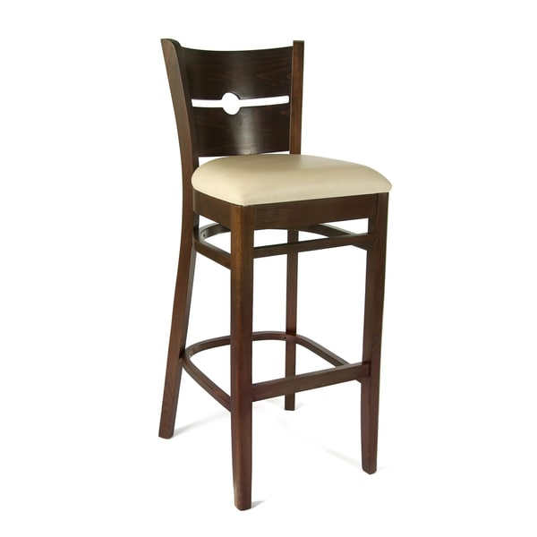 Coin Beech Wood Barstool