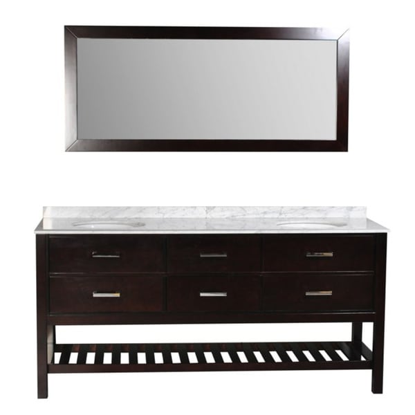 Belmont Decor 'Nautica' Double Sink Bathroom Vanity