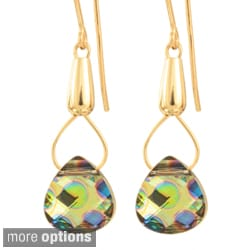 Goldfilled 14k Crystal Theia Earrings