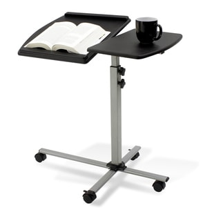 Adjustable Laptop and Reading Table in Black