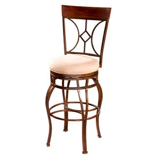 Savanna Cherry Tall 34-inch Swivel Barstool