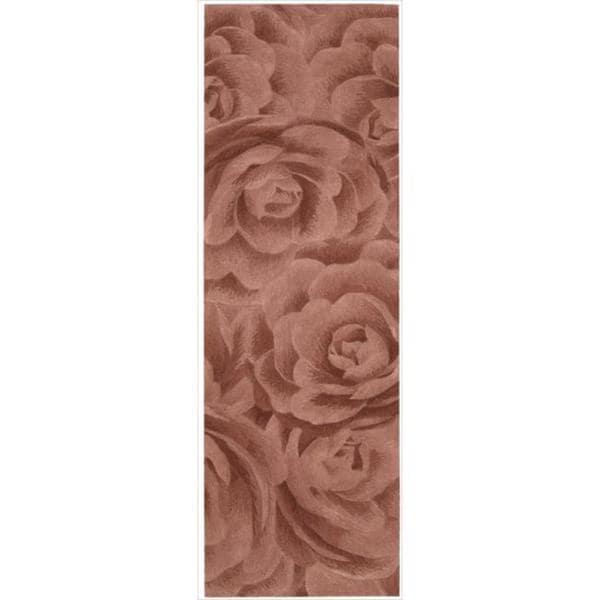 Nourison Hand-tufted Moda Blush Petal Rug (2'3 x 8')