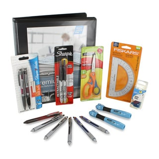Basic Back to School / Office Supply Essentials 14-piece Kit