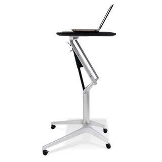 Height-Adjustable Espresso Work Table