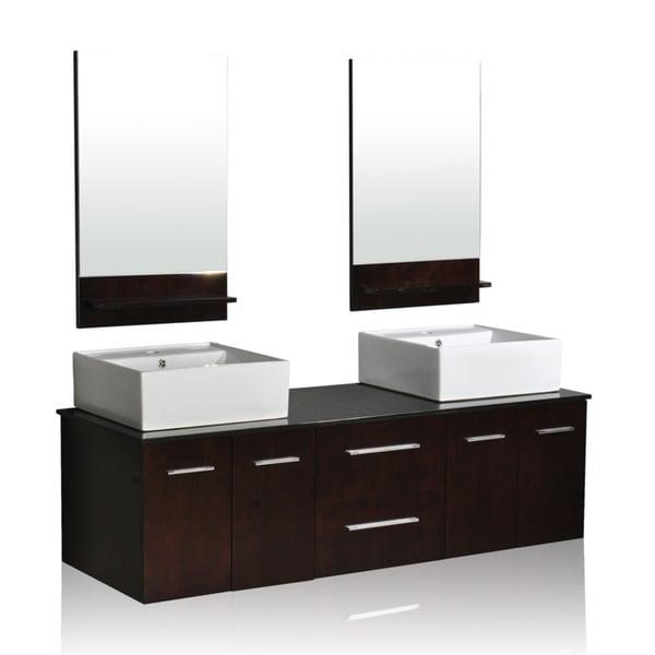 Belmont Decor 'Skyline' Double Vessel Sink Vanity