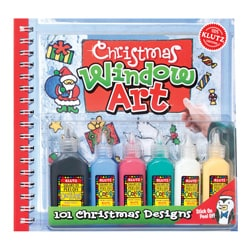Christmas Window Art Craft Book