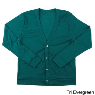 American Apparel Kids' Tri-Blend Ribbed Cardigan
