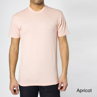 American Apparel Men's 50/50 Short Sleeve Crew T-shirt