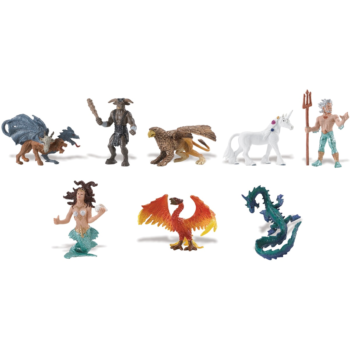 Mythical Realm Plastic Miniatures In Toobs