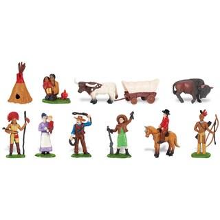Wild West Plastic Miniatures In Toobs