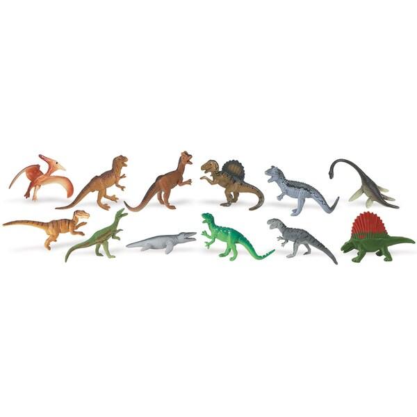 Carnivorous Dino Plastic Miniatures In Toobs