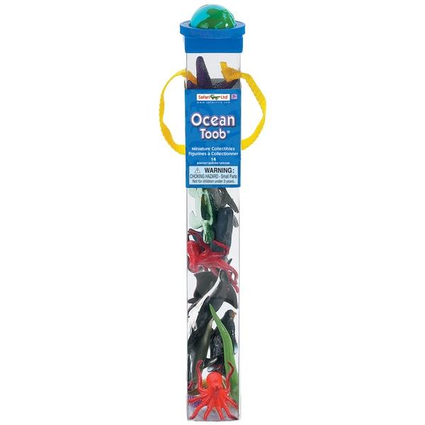 Ocean Plastic Miniatures In Toobs