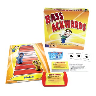 Pressman Toys Bass Ackwards Board Game