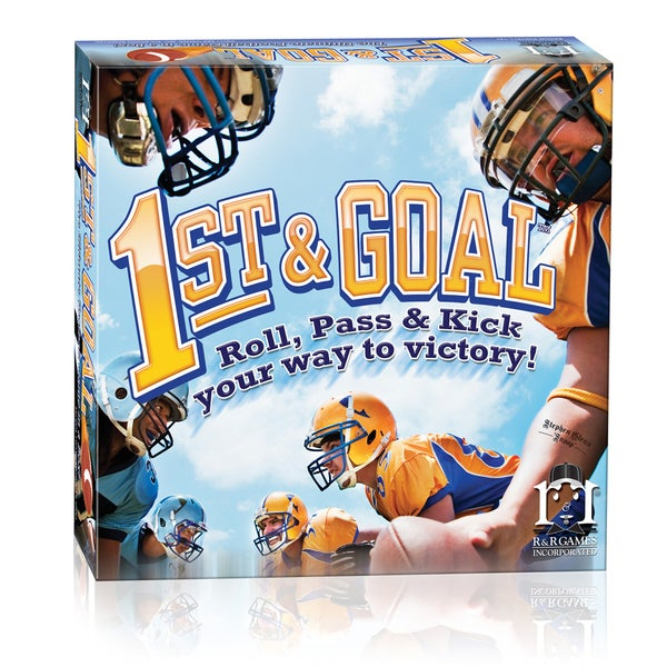 1st & Goal Football Board Game