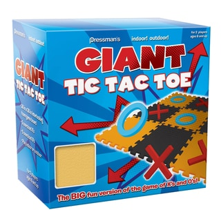 Pressmans Giant Garden Tic Tac Toe Game