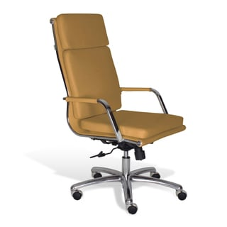 Alfred High Back Mustard Office Chair