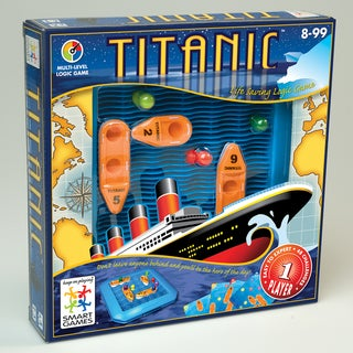 SmartGames Titanic Game