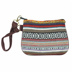 Mini Cotton Knit Clutch (Nepal)