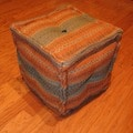 Handmade Kilim Puff Ottoman