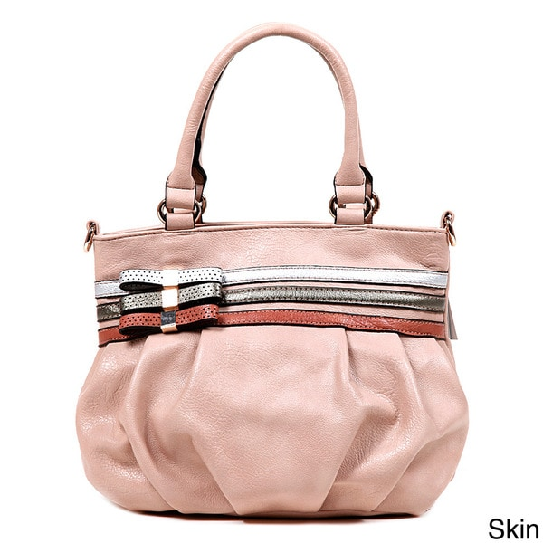 Nicole Lee Beverly Bow Satchel Bag