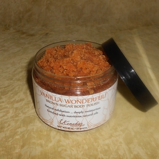 'Vanilla Wonderful' Brown Sugar Body Polish