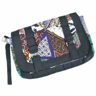 Patch Print Cotton Clutch (Indonesia)