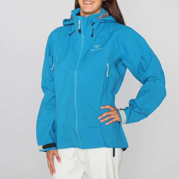 Arc'teryx Women's 'Beta AR' Bondi Blue Ski Jacket (L)