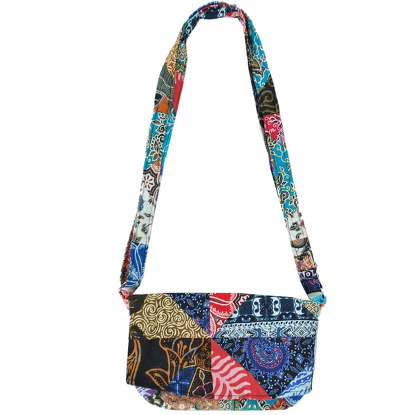 Patch Chic Crossbody Purse (Indonesia)