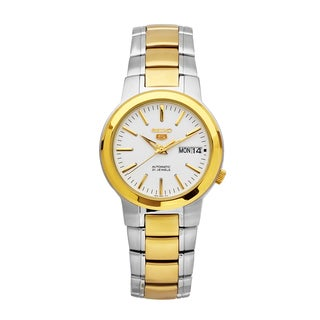 Seiko Men's 5 Two-tone Stainless Steel Watch