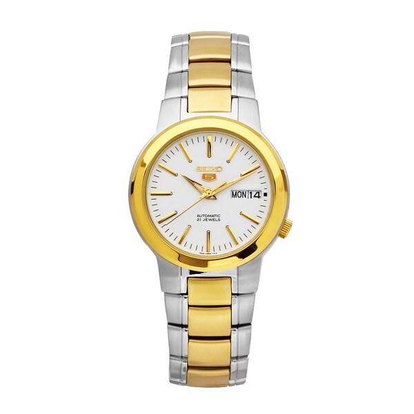 Seiko Men's 5 Two-tone Stainless Steel Watch
