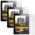 BasAcc Screen Protector for Apple iPad 2/ 3 (Pack of 3)